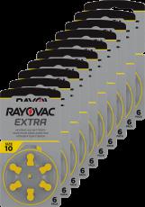 Rayovac kuulolaiteparisto 10 pakkauksia 10 kpl