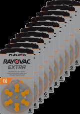 Rayovac kuulolaiteparisto 13 pakkauksia 10 KPL