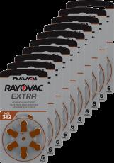 Rayovac kuulolaiteparisto 312 pakkauksia 10 kpl