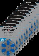 Rayovac kuulolaiteparisto 675 pakkauksia 10 kpl